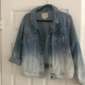 Ombre Jean jacket
